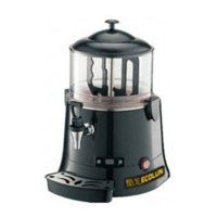 Аппарат для горячего шоколада ECOLUN 5L ( черный)