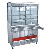 Прилавок-витрина холодильный ПВВ-70КМ-С-НШ