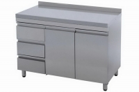 Стол-тумба СТ-3/1200 с ящиками и бортом