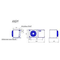 Компрессорно-конденсаторный блок Intercold ККБМ-TFH2480