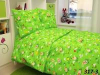 Комплект детского постельного белья — бязь цветная  Иваново