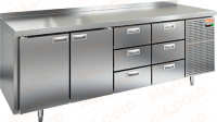 Холодильный стол Hicold SN 1133/BT