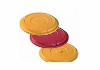 Крышка пластиковая на тарелку для главного блюда