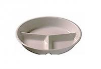 Тарелка для главного блюда три части
