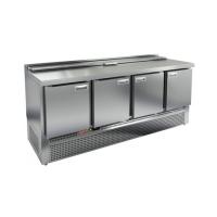 Стол для салатов HICOLD SLE1-1111GN (1/3) с крышкой
