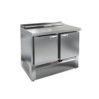 Стол для салатов HICOLD SLE2-11SN (1/6) с крышкой