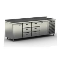 Стол холодильный Cryspi СШС-6,2 GN-2300