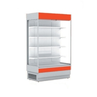 Холодильная горка Cryspi ALT_N S 1350 LED с выпаривателем и боковинами