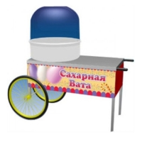 Тележка для для аппарата сахарной ваты ТТМ ТАСВ-110СК
