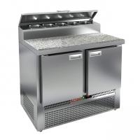 Холодильный стол Hicold PZE1-11/GN (1/3H) камень