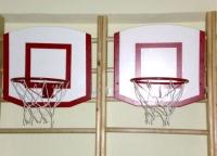 Щит баскетбольный навесной детский