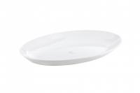 Овальная тарелка  для основных блюд 24 см