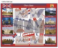 Стенд для кабинета Иностранного языка - 007