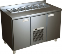 Холодильный стол ТМ ROSSO SL 2GN Carboma