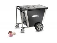 Тележка со встроенным фризером для мягкого мороженого NEMOX Gelato Mobile 5K CREA SC