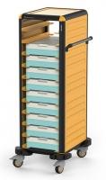 Тележка-шпилька для термоконтейнера (термоподноса)