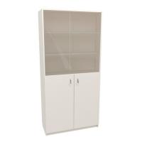 Шкаф общего назначения со стеклом 2 секции (М-103)
